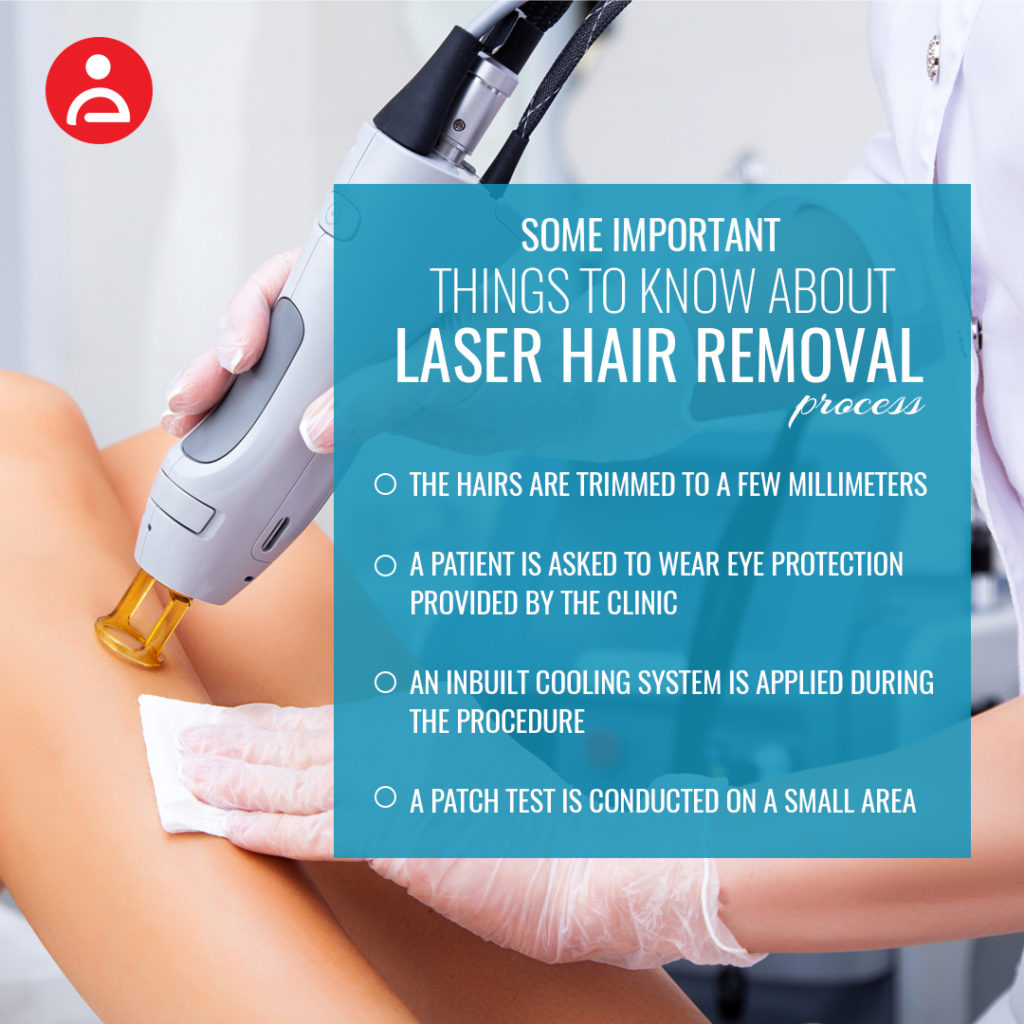 Some important things to know about laser hair removal process