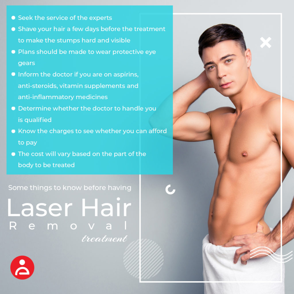 Some things to know before having laser hair removal treatment